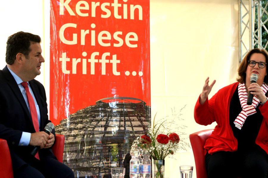 Kerstin Griese trifft Hubertus heil